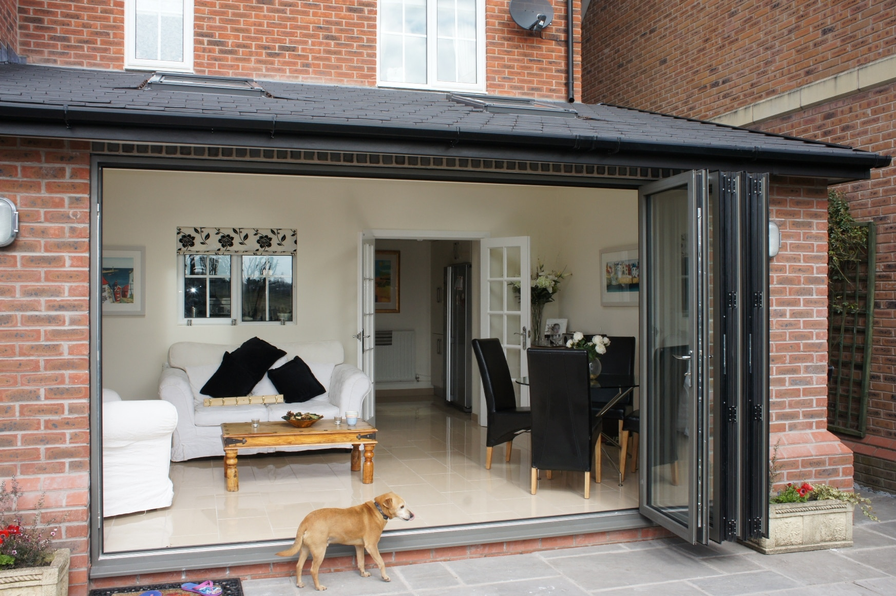 House Extension Single Storey With Bi Fold Doors Amp Velux