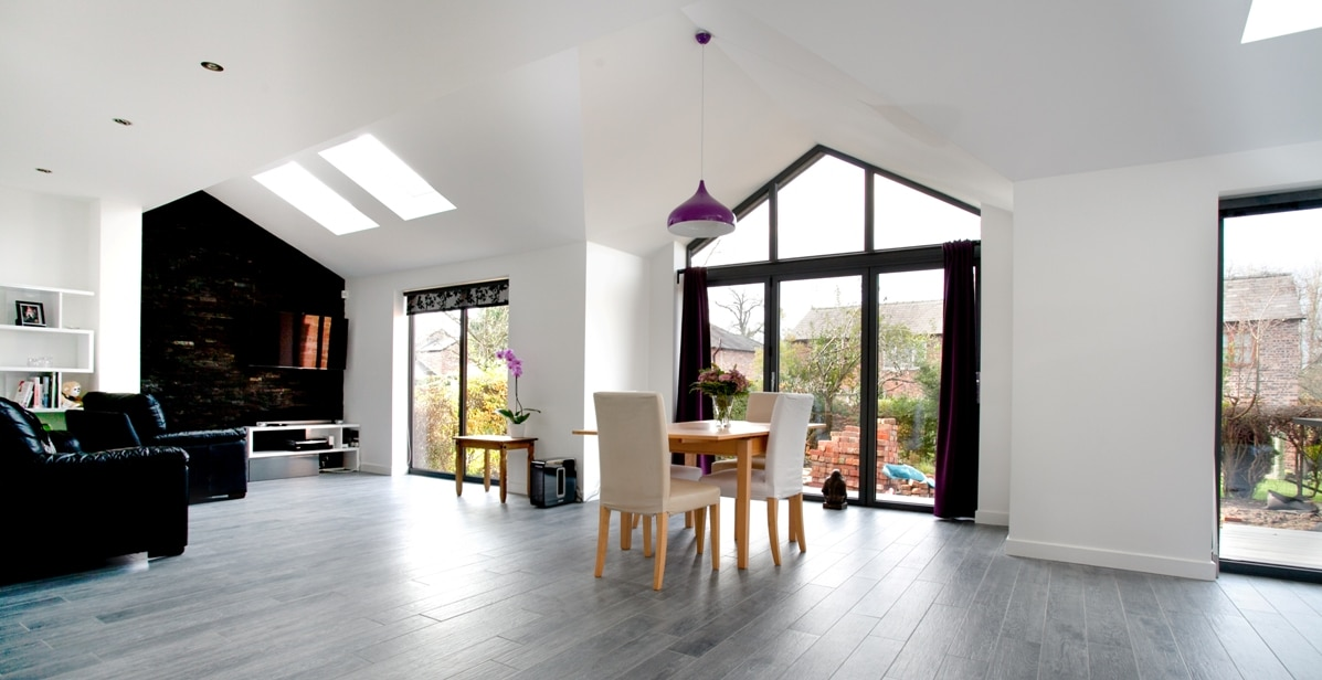 Lymm Open Plan Rear Extension View 3 Transforming Homes