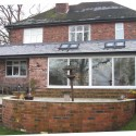 House extension to create open plan kitchen & family room Hartford Cheshire