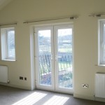 Master bedroom with French windows & Juliette balcony