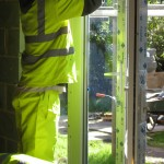 Fiiting of double glazed units to rear patio doors