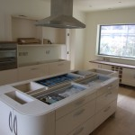 Kitchen Island base units fully built ready to take garnite work top