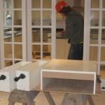 Foreman fitting kitchen units