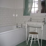Old style bathroom prior to renovation works