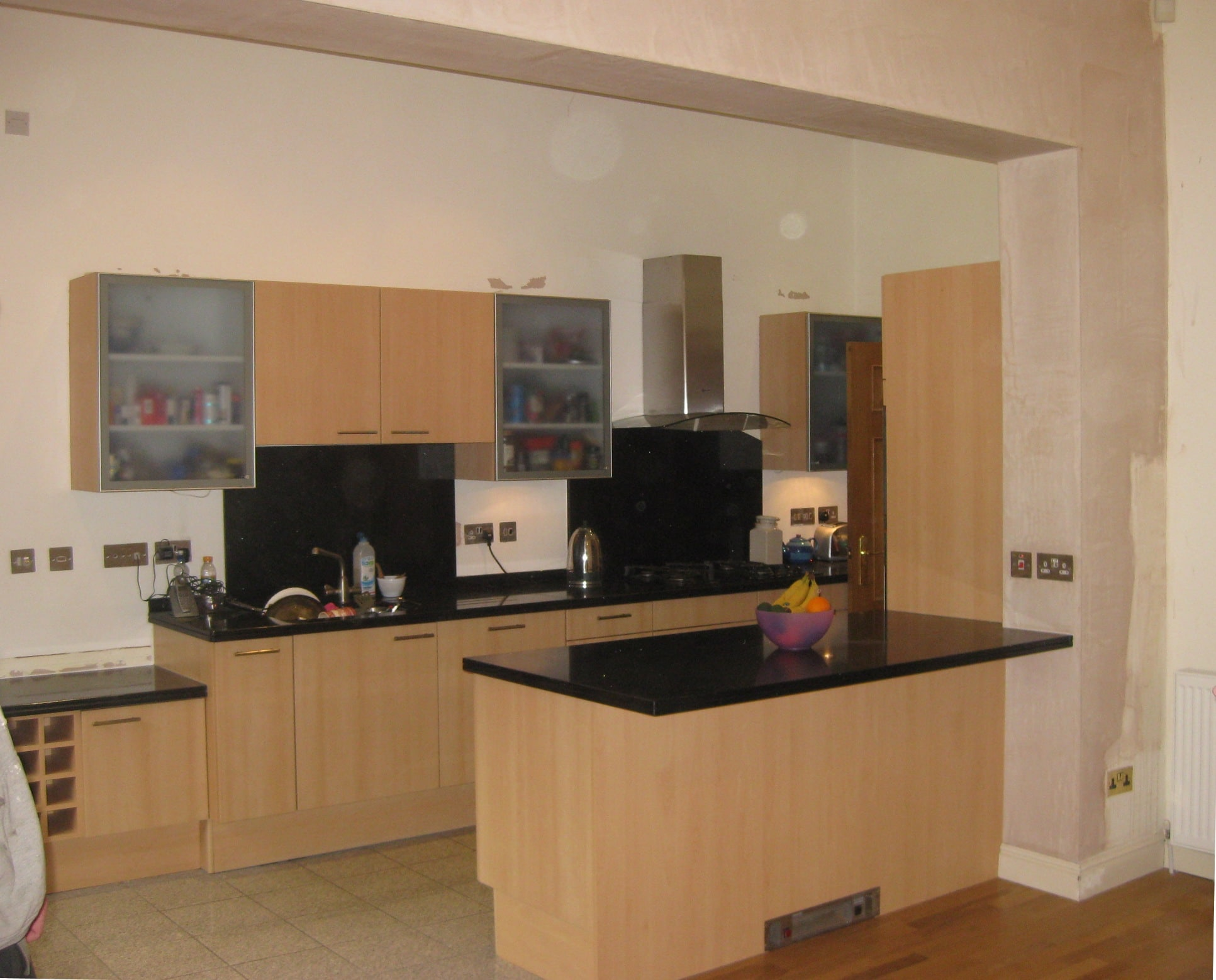 Kitchen Alterations To Form Open Plan Kitchen To Living
