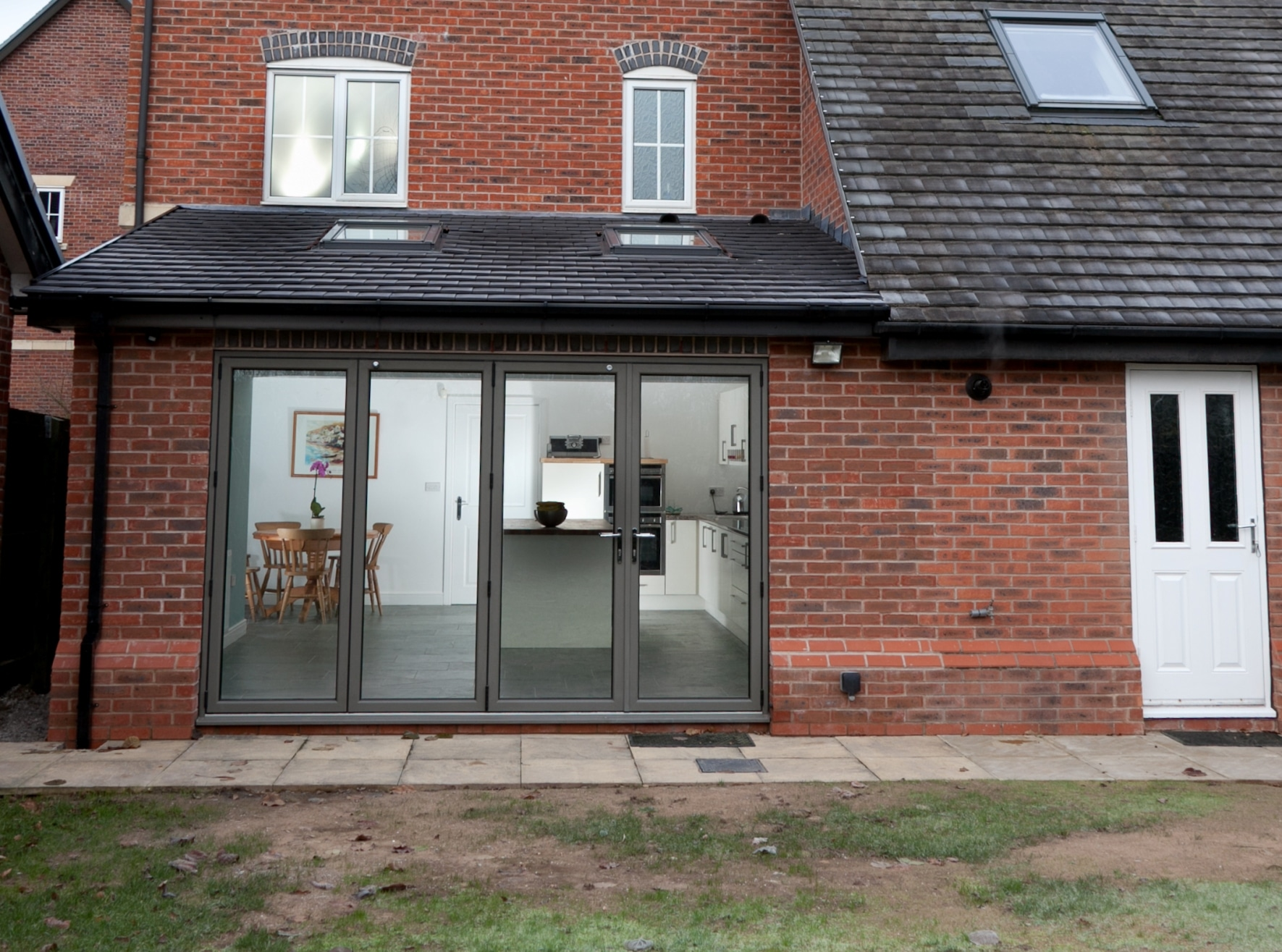 Kitchen Extension To Form Open Plan Living Space Lymm