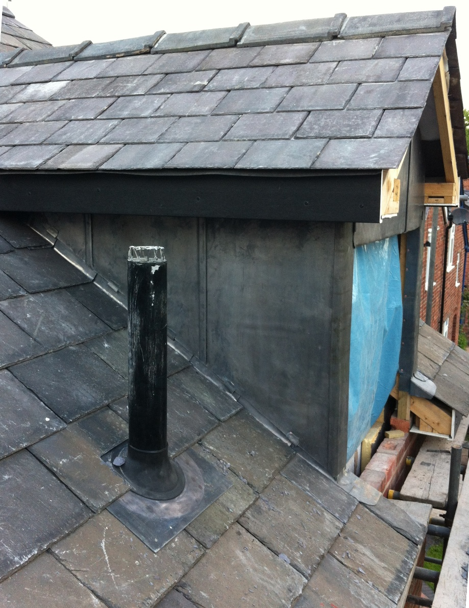 Dormer Window With Lead Cheeks Transforming Homes For